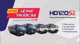 Khuyến mãi lệ phí trước bạ xe Hyundai HD120SL