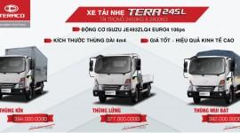 Giá xe tải TERA 245L tại Nghệ An , Hà Tĩnh