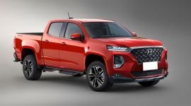 Xe bán tải của Hyundai sẽ được trang bị động cơ Diesel của GV80