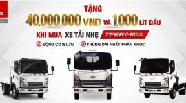 Khuyến mãi lớn khi mua xe TERA245L & TERA240S/L